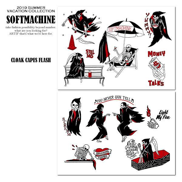 先行予約 ソフトマシーン ポスター SOFTMACHINE CLOAK CAPES FLASH 6月〜7月入荷予定【ストリート系 ファッション】