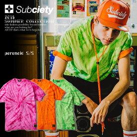 サブサエティ Tシャツ SUBCIETY paranoid S/S 【ストリート系 ファッション】