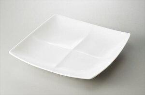 freeto 4プレート 白 サイズ:23.7×23.7×H3.6cm 業務用 キッチン用品 厨房用品 食器 居酒屋 おしゃれ食器 創作料理