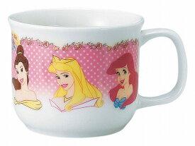 Disney(ディズニー)ディズニープリンセス(花飾り)こどもマグカップ(陶磁器製)【10P05Sep15】