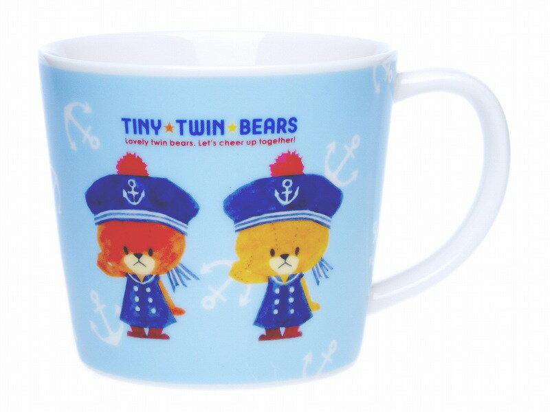 TWIN TWIN BEARS ルルロロ マグカップ(マリン)【10P05Sep15】