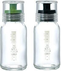 【ハリオ/HARIO】振って・作って・注いで・保存もOK!耐熱ハリオグラス【ドレッシングボトルスリム 120(G(グリーン)/B(ブラック))】(120ml)【10P05Sep15】