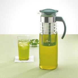 【ハリオ/HARIO】耐熱ハリオグラス【かご網付き水出し茶ポット HCC-12DG]】(1,200ml)【10P05Sep15】