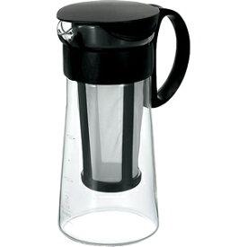【ハリオ/HARIO】手軽で美味しい水出し珈琲が作れます!耐熱ハリオグラス【水出し珈琲ポット ミニ】(600ml)色は赤・茶のみとなります。黒は廃番となりました。【10P05Sep15】