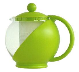 【楽天スーパーSALE】カラードガラス ティーサーバー ティーポット750ml茶こし付き【10P05Sep15】
