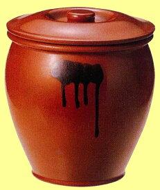 丸かめ(蓋付) 半胴瓶 丸壺3号 5.4L【10P05Sep15】
