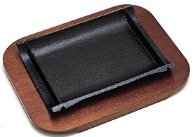 【キャッシュレス決済で5%還元!】【IH対応】ステーキ皿 竹 21cm