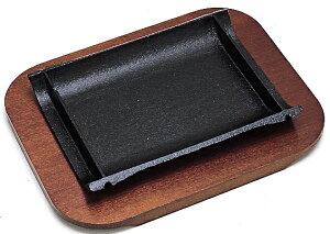 【IH対応】ステーキ皿 竹 21cm 業務用 キッチン用品 厨房用品 食器 居酒屋 おしゃれ食器 創作料理