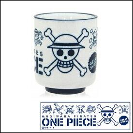 ONE PIECE(ワンピース)海賊旗 撥水マグM(白) 業務用 キッチン用品 厨房用品 食器 居酒屋 おしゃれ食器 創作料理
