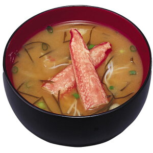 【アマノフーズのフリーズドライ味噌汁】北海道みそ-かに汁-(10食入り) 即席 インスタント[am]