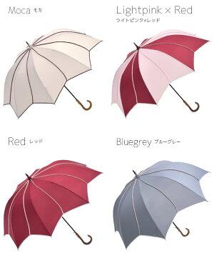 待望の再入荷!【雨傘レディース長傘大判深張り】【フラワースタイル大判ジャンプ深張りアンブレラ】雨傘レディース長傘大判深張り大きい大きめポップジャンプ傘ジャンプ雨傘梅雨夕立