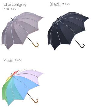 雨傘レディース長傘大判深張り【フラワースタイル大判ジャンプ深張りアンブレラ】雨傘レディース長傘大判深張り大きい大きめポップジャンプ傘ジャンプ雨傘梅雨夕立