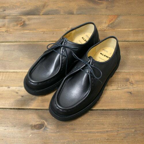 KLEMAN【クレマン】-Padre /Tirolean Shoes (Black)【チロリアンシューズ】