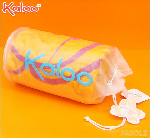 Kaloo(カルー)ビーチタオル(オレンジ) ビーチコレクション (出産祝い お誕生日プレゼント 贈り物 ギフト)
