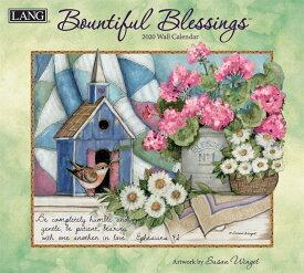 2020年 ラング社(LANG)USA カレンダー Bountiful Blessings先行予約 7月初旬入荷予定