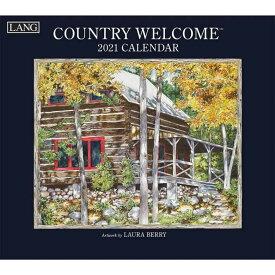 2021年 ラング社(LANG)USA カレンダー Country Welcome