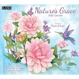 2021年 ラング社(LANG)USA カレンダーNature's Grace