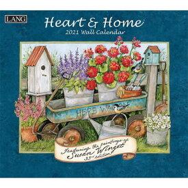 2021年 ラング社(LANG)USA カレンダーHeart&Home