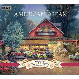 2021年 ラング社(LANG)USA カレンダー American Dream