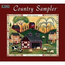 2021年 ラング社(LANG)USA カレンダー Country Sampler