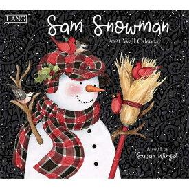 2021年 ラング社(LANG)USA カレンダーSam Snowman