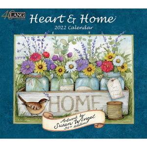 ラング(LANG)USAカレンダー2022Heart&Home
