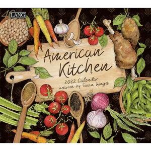 2022年 ラング社(LANG)USA カレンダー AMERICAN KITCHEN 予約受付中 7月上旬から下旬入荷予定