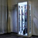 【新生活】 コレクションボード 幅62cm LEDライト付 ワンピースフィギア コレクションケース ディスプレイケース 飾り棚 キュリオケース ショーケース フ...