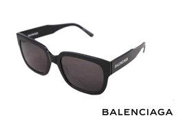 BALENCIAGA バレンシアガ サングラス ロゴ イタリア製 メンズ 男 新品 1000 ブラック