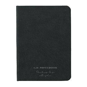 アピカ プレミアムCDノートブックハードカバー ブラックカバー B7方眼罫  1冊