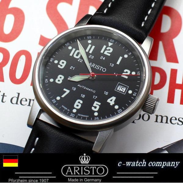 アリスト Aristo ドイツ時計 自動巻き ETA2824 パイロットウォッチ 3H11 Limited