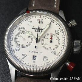 ハンハルト パイオニア ツインコントロール 721.200-011 クロノグラフ ドイツ時計 自動巻き メンズ 腕時計 ブランド
