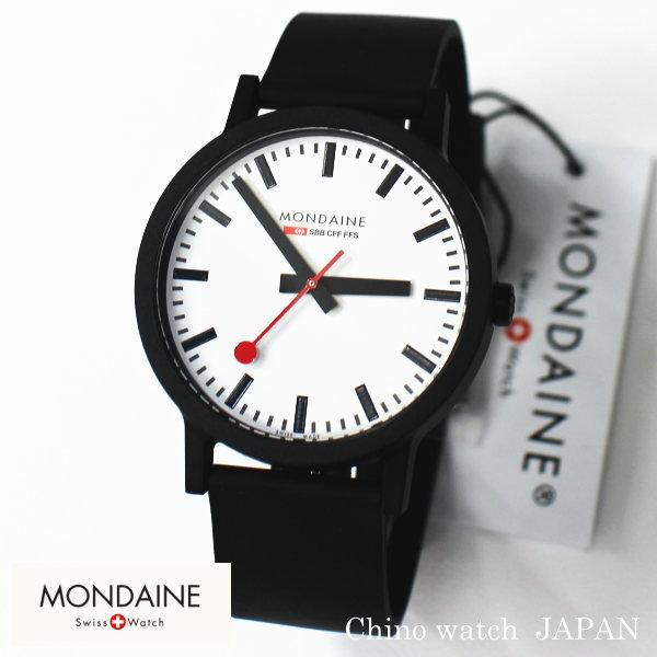 NEW MONDAINE essence モンディーン エッセンス 直径41mm White MS1.41110.RB スイス鉄道時計 腕時計 時計