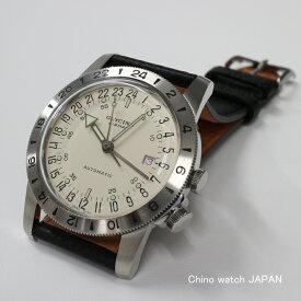 GLYCINE グリシン エアマン40 No1 12時間表示 GMT機能付き GL0164/GMT 自動巻き 時計 腕時計 送料無料
