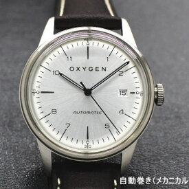 メッシュブレス プレゼント中! OXYGEN オキシゲン CITY LEGEND40 WALTER L-CA-WAL-40 自動巻き 腕時計 送料無料 メンズ ブランド