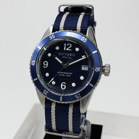 OXYGEN オキシゲン DIVER LEGEND42 L-DIV-42-NS BLUE クォーツ 腕時計 送料無料