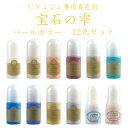 【ネコポス送料無料】宝石の雫 パールカラー 12色セット パジコ PADICO UVレジン着色剤