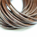 2mm round brown 10m