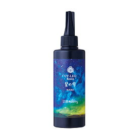 LED UV レジン 星の雫 ハードタイプ 詰替用 200g 大容量 UVレジン液 パジコ PADICO 太陽の雫 クラフトアレンジ