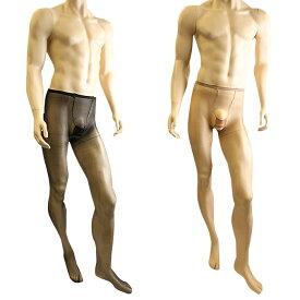 男性用ストッキング パンスト 極薄 10デニール メンズストッキング メンズランジェリー メンズパンスト