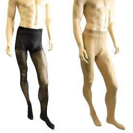 男性用ストッキング パンスト タイツ 厚手 80デニール メンズストッキング メンズランジェリー メンズパンスト