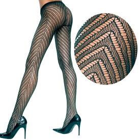 Music Legs 遠くからでも目立つデザインパンスト/伸びのあるスパンデックス素材/5099