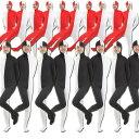 全身タイツ 錯覚ダンス 衣装 アシンメトリー ラインダンス 錯視 黒 白 赤(レッド ブラック ホワイト) ハロウィン 文化…