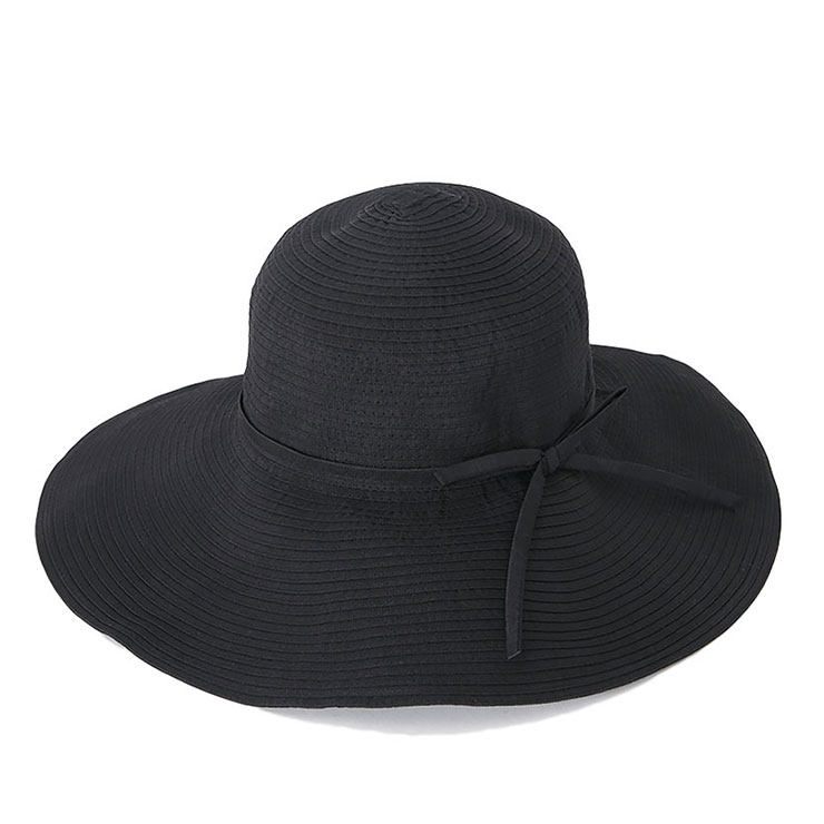 帽子 レディース 春 夏 UV つば広 ハット カブロカムリエ | CabloCamurie 2017年モデル CC リボンブレード ワイドブリム | 送料無料【UNI】