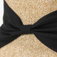 フェヌアハットSHIN323レディース帽子麦わら日本製春夏UV紫外線対策つば広全4色MサイズFENUA【UNI】