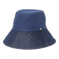 フェヌアハットmaterialsレディース日本製春夏帽子つば広麻UV紫外線対策全2色MサイズFENUA【UNI】