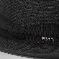 フェヌアハットSEVEN日本製春夏レディース帽子中折れ麦わらペーパーブレードユニセックス全3色MサイズFENUA【UNI】