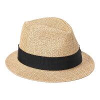 フェヌアハットPESI春夏レディース帽子中折れ麦わらハットペーパー日本製ユニセックス全5色MサイズFENUA【UNI】