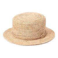 ガーブリッシュハットRAKAN春夏レディースカンカン帽ラフィア全3色MサイズGIRBLISH【UNI】