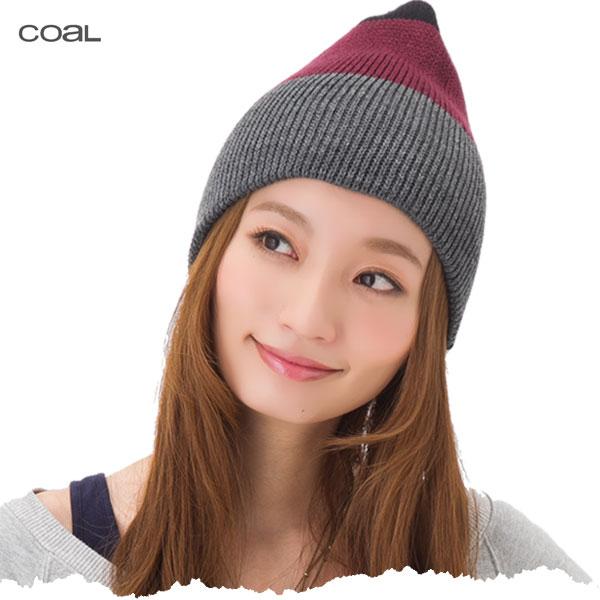 帽子 レディース ニット帽 3色ボーダー柄 ニットキャップ COAL HEAD WEAR KNIT CAP THE FRENA メール便 送料無料 【MB】【返品・交換対象外】
